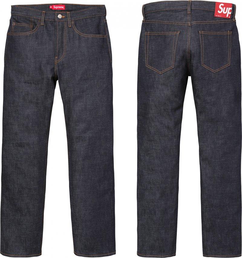 Details Supreme Rigid Slim Jeans - Supreme Community
