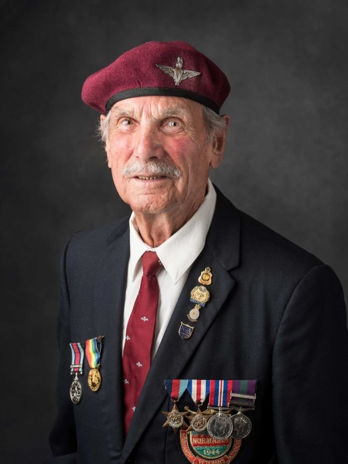 WWII veterans captured in massive portrait project displayed at ...