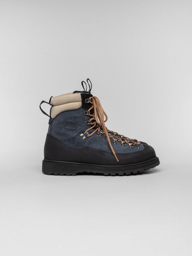 Everest Dusty Blue | Men Hiker Boots | Diemme Footwear
