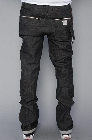 DAILY DOSE OF DOPE: The KR3W x Crooks Clan K Slims Jeans in Black BY  KREW/CROOKS N CASTLES   NY FROM SD