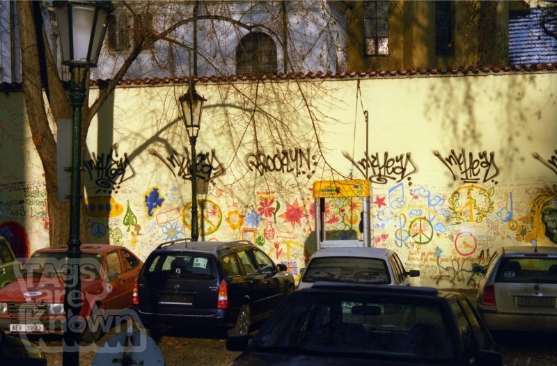 Prague 2002 Graffiti Inkhead John Lennon Wall 2.jpg